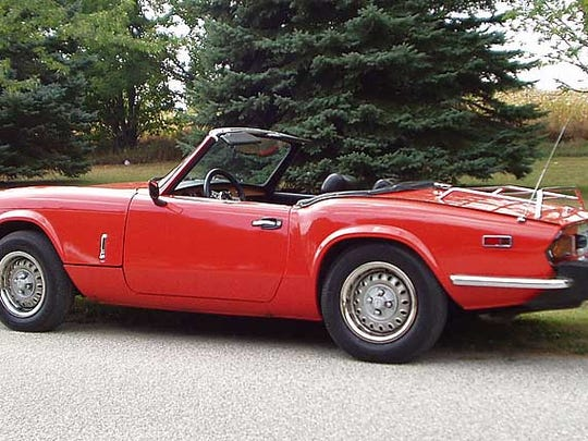 We asked folks to share their first car with us. Yvette Creel's first car was a 1978 Triumph Spitfire. Her father worked for more than six months to get it running and paint it bright red. Send a picture and info to lguidry@theadvertiser.com to see it in this gallery or Times of Acadiana.
