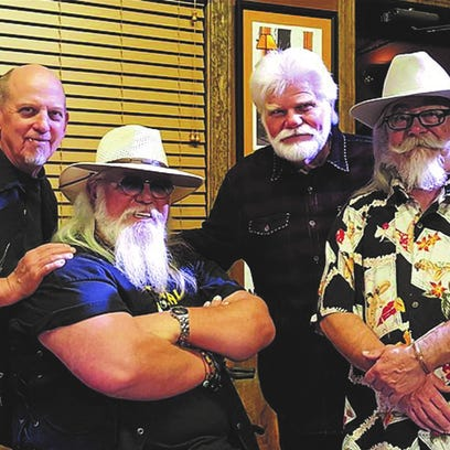 Mike Pritchard & Friends consists of from left, Bobby