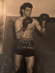 Tony Romano was a Golden Gloves champion and 33-3 as