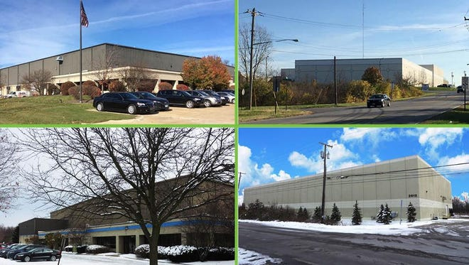 Two of the five properties that Cintas sold to Diamond Properties for $26.5 million.