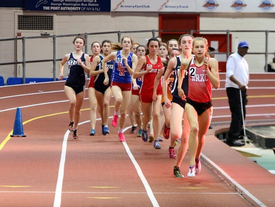 Sophomore Katelyn Tuohy of North Rockland leads the