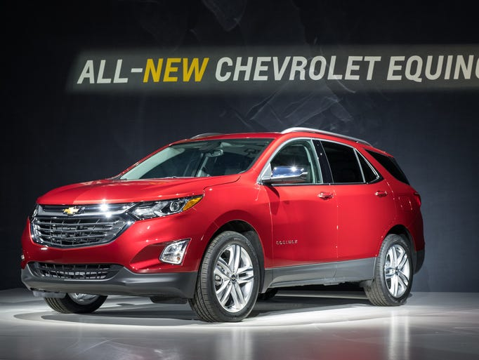 Chevrolet introduces the 2018 Equinox compact SUV Thursday,