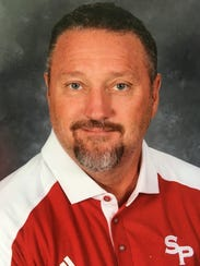 Troy Burgess, new head football coach at Central High