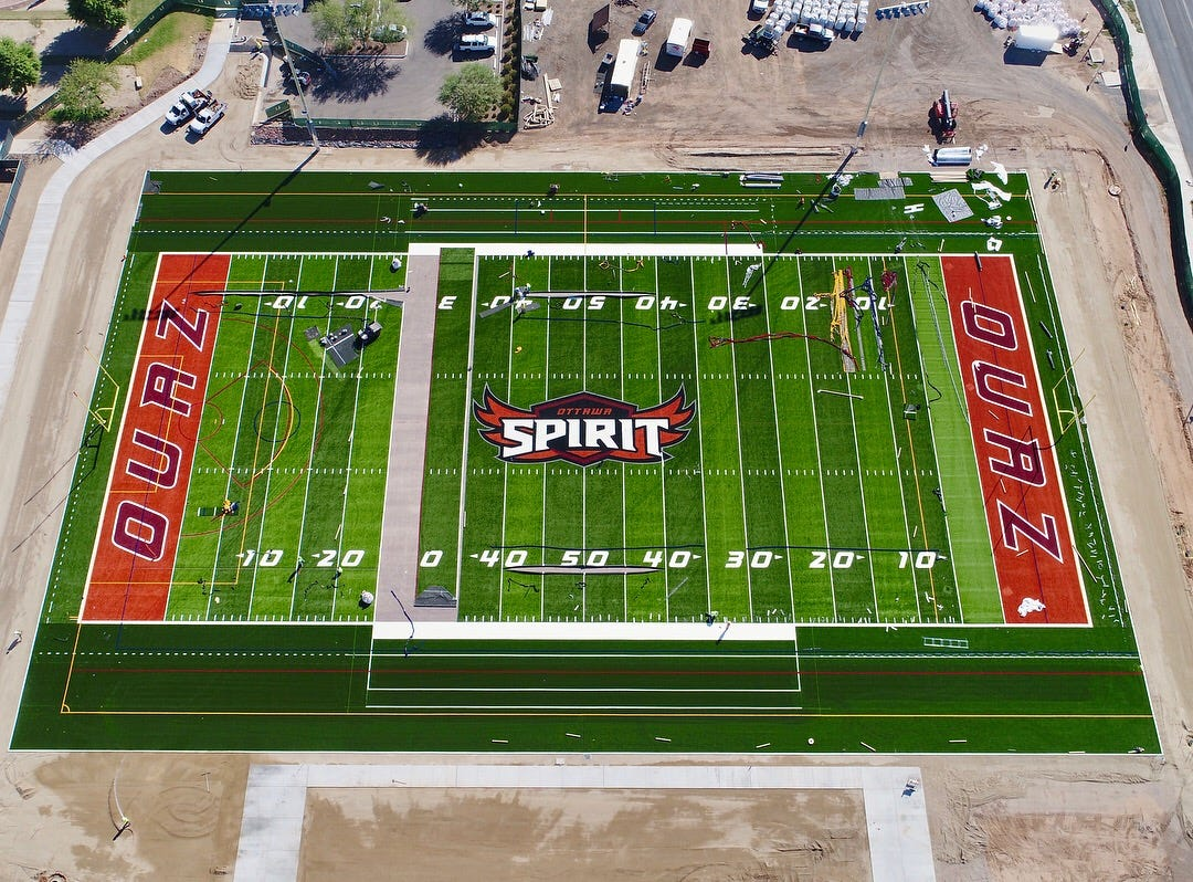 Ottawa University Arizonau0027s Spirit Field In Surprise Opened In October With  Football And Menu0027s And Womenu0027s