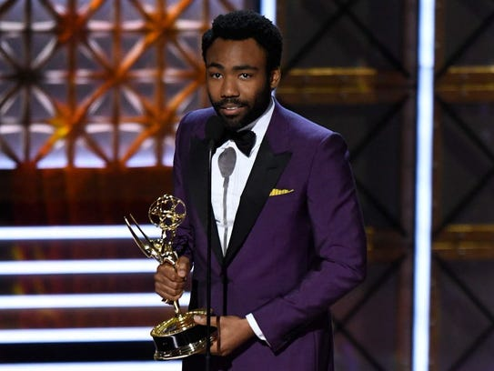 Donald Glover won two Emmys for 'Atlanta,' for lead