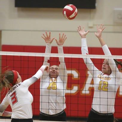 Photos: Carlisle tops Newton in volleyball regional