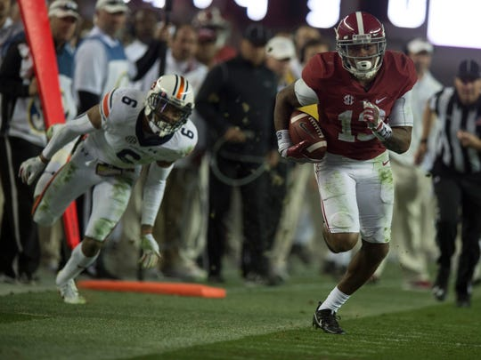 fddea2bbe40 Former Alabama receiver arrested Thursday for carrying a pistol ...