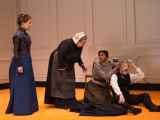 """The Broadway cast of """"A Doll's House, Part 2."""""""