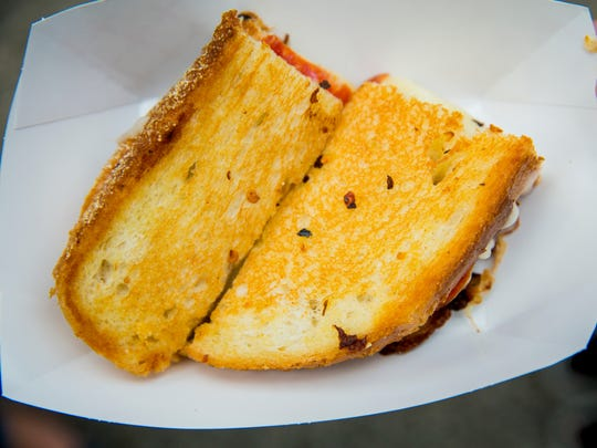 C'est Cheese's offers the Bee sting for $5 at Taste of Cincinnati.