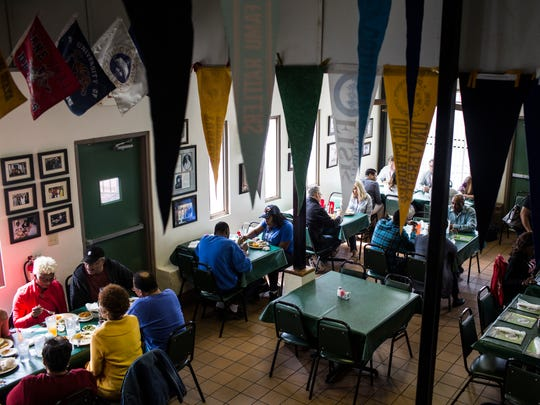 The Four Way restaurant became a gathering place for those in the civil right movement during the 1960s.