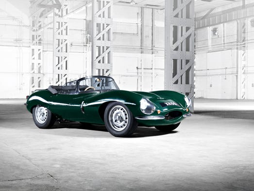 Jaguar will make nine units of the XKSS, which will