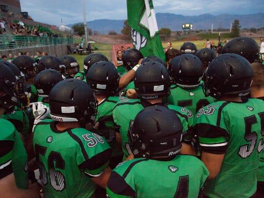 Virgin Valley football takes on Mojave High School