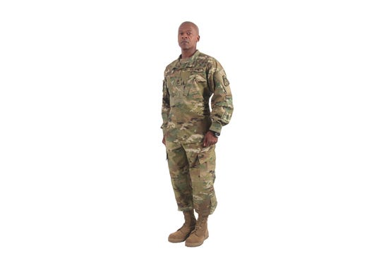 New Army Camouflage Means New Boots Belt T Shirt