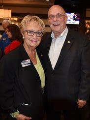 Hugh Crawford, enjoying election night victories with