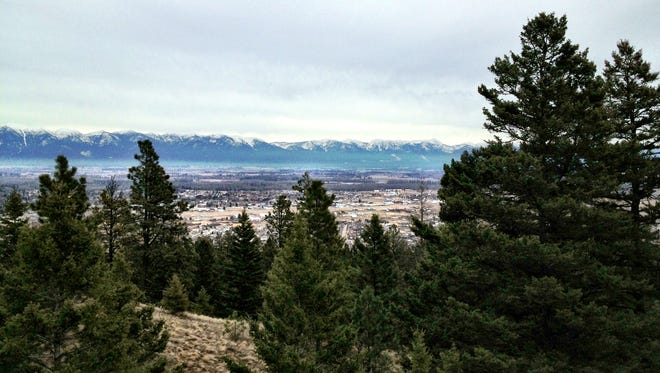 Lone Pine State Park overlooks the Flathead Valley.