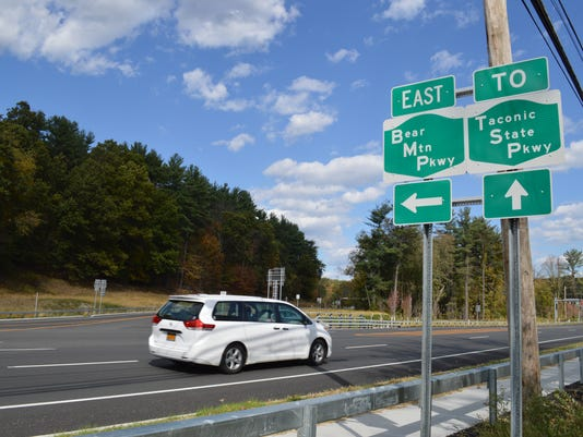 Road improvements on Rt. 202/35 and Bear Mountain Parkway 3
