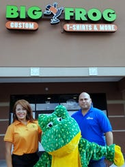 Angie and George Rodriguez are opening a Big Frog Custom