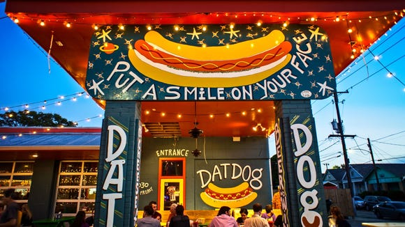 Dat Dog has seen explosive popularity since opening in New Orleans in 2011. The hot dog spot is now considering opening a Lafayette location.