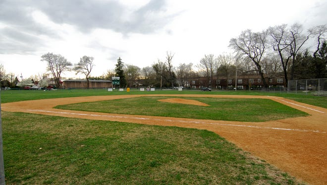 Baseball diamond at Cresskill's Merritt Field, where the borough plans an expansion that will include new recreational facilities.