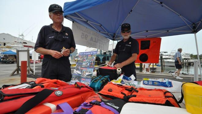 File: Arne Kelsey promotes boating safety.