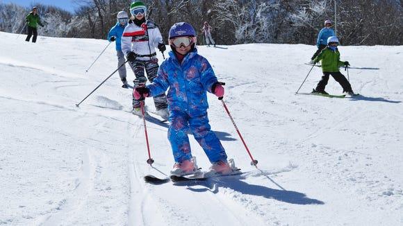 Sugar Mountain Ski Resort has ski and snowboard runs, a terrain park, outdoor ice skating rink, tubing run and snowshoeing.