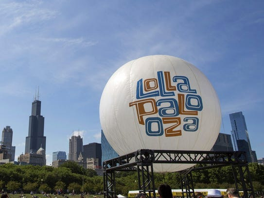 Lollapalooza is scheduled for Aug. 3-6 in Chicago.
