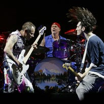 Red Hot Chili Peppers deliver hits at high-energy concert in Glendale