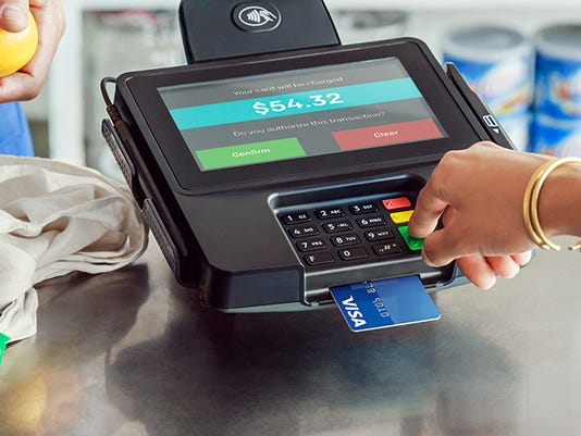 XXX VISA CHIPPED CREDIT CARD A