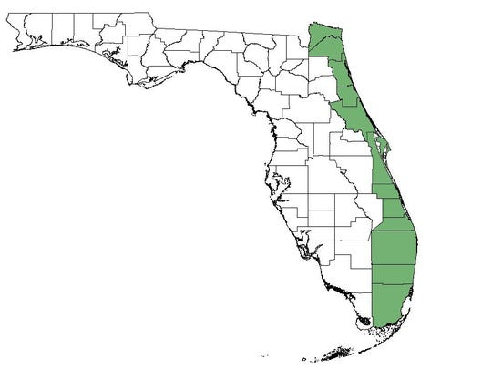 Florida Inland Navigation Inlet counties.