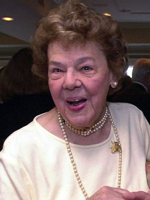 Marguerite St. Lawrence in a 1999 file photo.