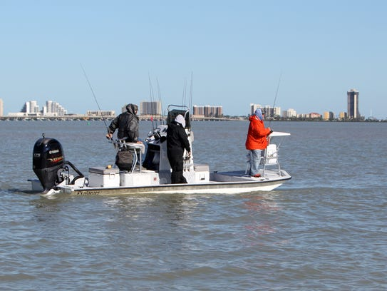 Cold stunned turtles and chilly trout for Corpus christi deep sea fishing
