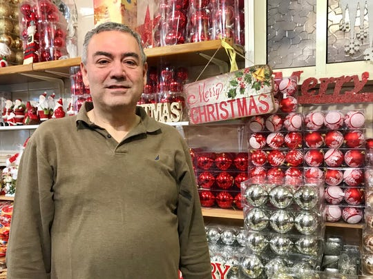 Hany Khoury, a shop owner in Nazareth.