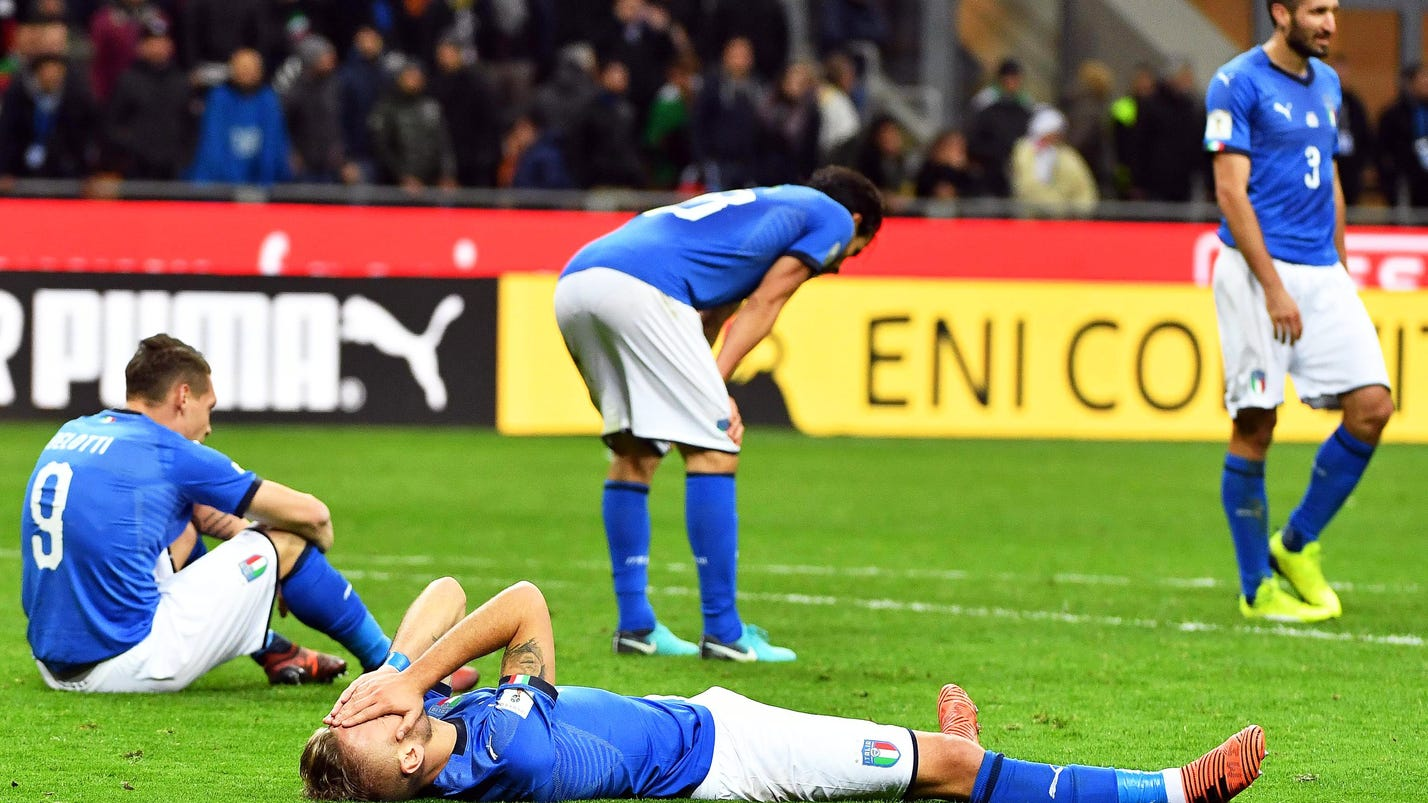 'A national shame': Local papers react harshly to Italy's World Cup failure