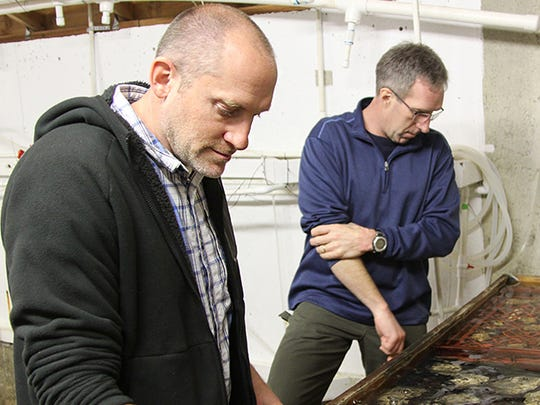 George Waldbusser, an assistant professor at Oregon State University, studies ocean acidification.