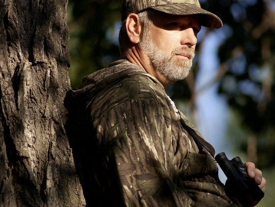 Faith in the hunt: Rob Forth of Sterling, Colo., hunts