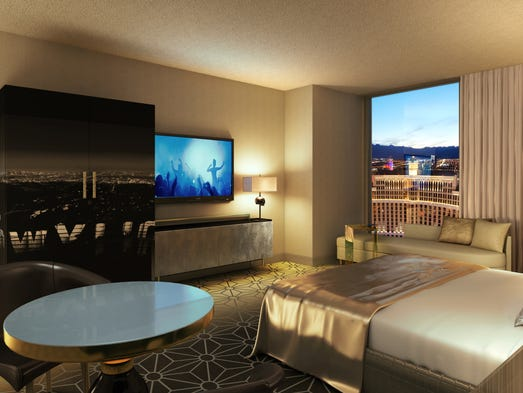 Caesars To Upgrade Thousands Of Rooms In Vegas