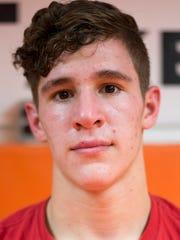 Isaiah Colgan, Johnson City, 138-pound weight class.