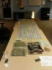 What police seized from Green Bay Packers defensive