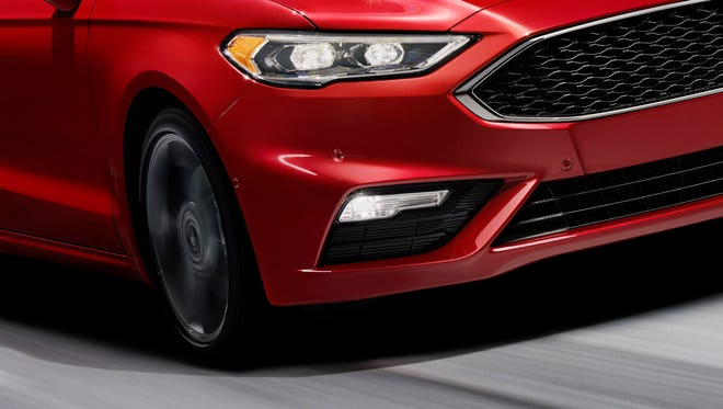 Ford Fusion V6 Sport will offer a system that detects potholes and keeps the tire from sinking into them