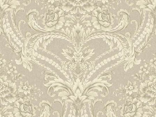 Baroque Floral Damask, produced by York Wallcoverings,