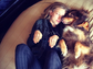 Amanda Seyfried showed her love for her dog Finn with this sweet snap.