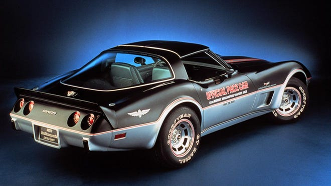 Although introduced in 1953, the Chevrolet Corvette took three generations until it first paced the Indianapolis 500 with this special edition, C3 generation 1978 Corvette Pace Car. Since then Corvettes have paced the Indy 500 14 more times.