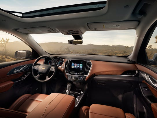 The 2018 Traverse High Country Trim Features Premium