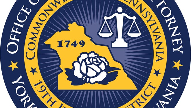 The official seal of the York County District Attorney's Office is pictured.