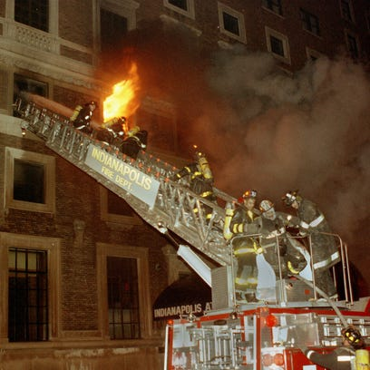 The Indianapolis Athletic Club fire of 1992.