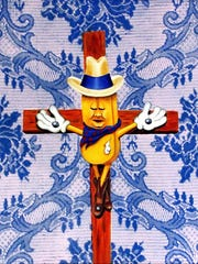 """""""Death of Twinkie the Kid"""" is part of Jared Aubel's show running through March 30 at R. Pela Contemporary Art."""