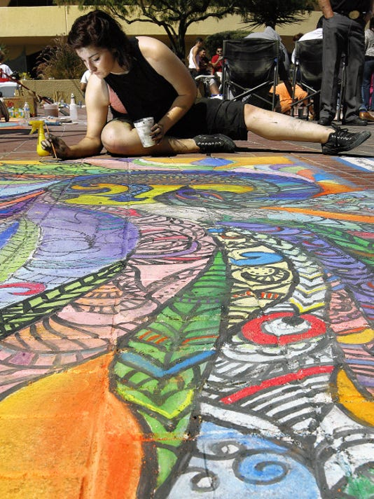 Jennifer Rivas Chalk the Block 2015