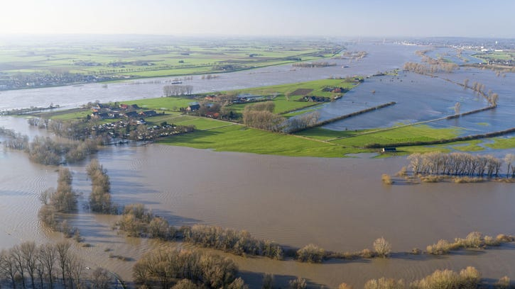 Germany Climate Change River Floods
