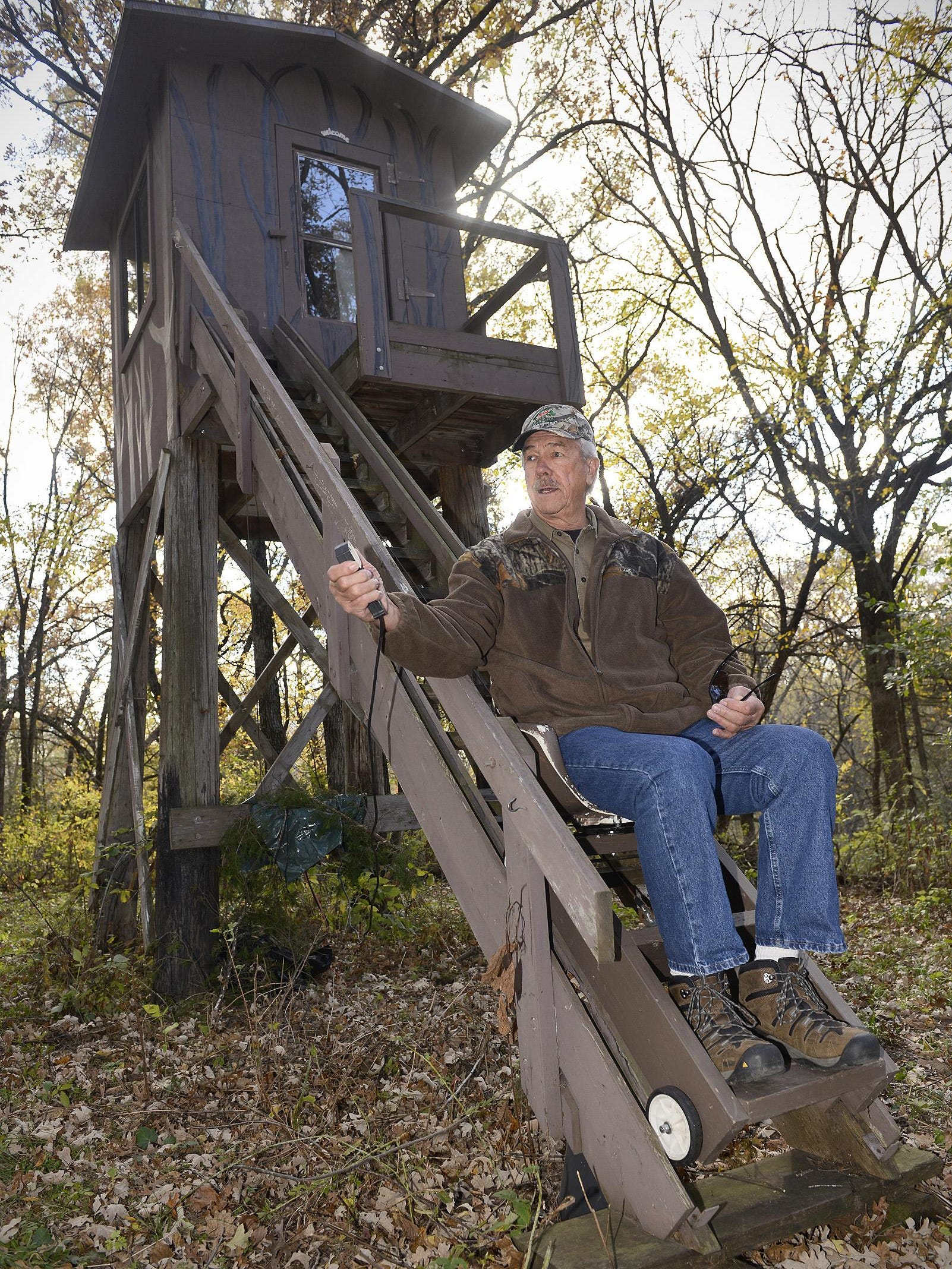 Hunters Unique Deer Stands Hold Stories Plus Heat