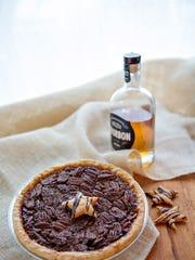Grand Traverse Pie company Bourbon Chocolate Pecan Pie